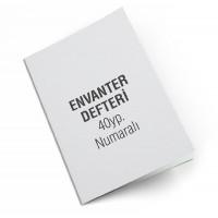 ÖZKAN ENVANTER DEFTERİ 40 YP NUMARALI