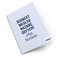 ÖZKAN SERBEST MESLEK KAZANÇ DEFTERİ 24 YP