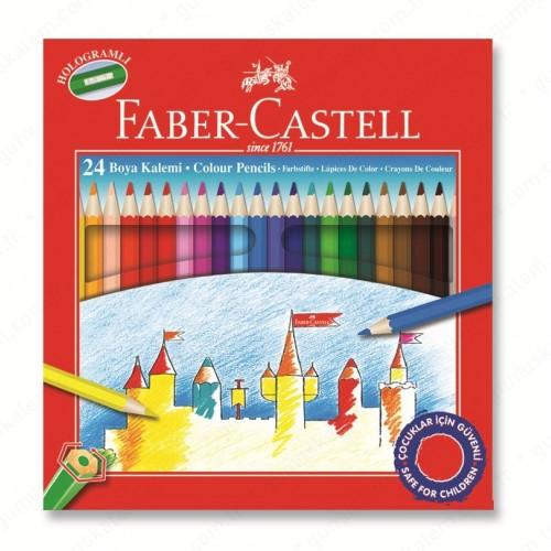 FABER CASTELL RED LINE KURU BOYA 24 LÜ